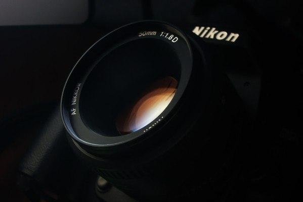 Nikon 50mm Lens Wallpa...