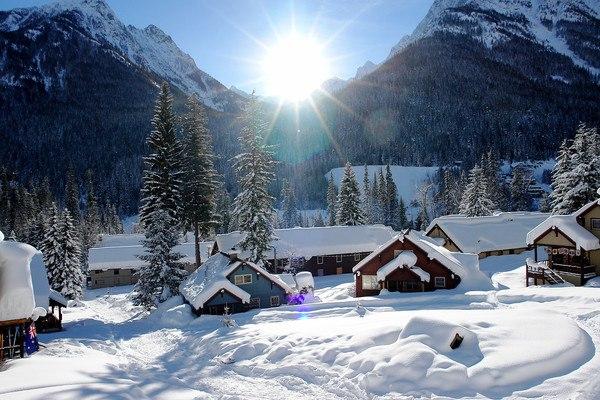 Holden Village Winter Washington