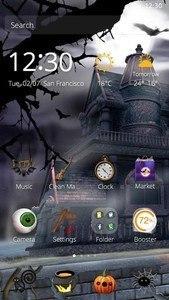 Halloween House Theme