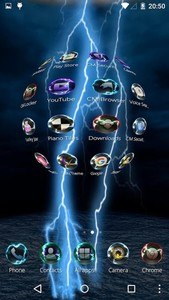 3D Lightning Tech Theme