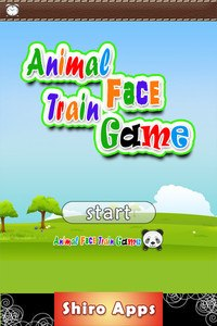 Animal Train for Kids to learn