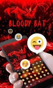 Bloody Bat GO Keyboard Theme