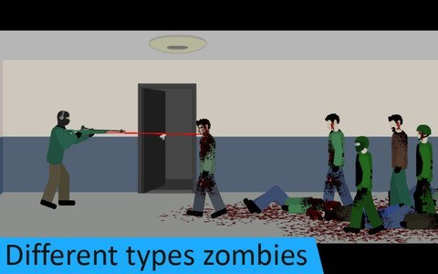Flat Zombies: Defense. Free