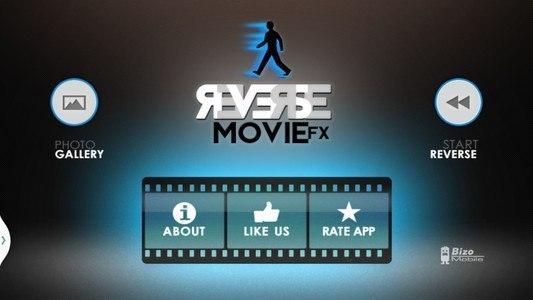 Reverse Movie FX - magic video