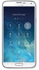 OS8 Lock Screen