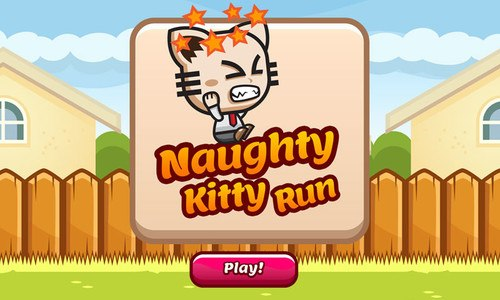 Naughty Kitty Run