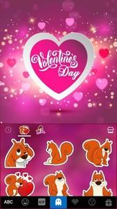 Valentine's day Kika Keyboard