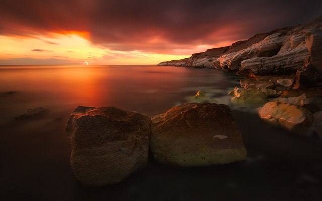 Sunset Rocks