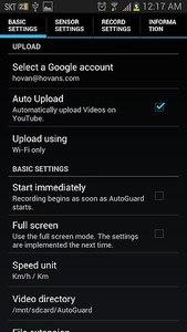 AutoGuard Dash Cam - Blackbox