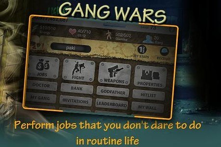 Gang Wars A Game for Gangsters