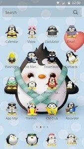 Penguin Theme for CM Launcher