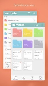 SomNote - Beautiful note app