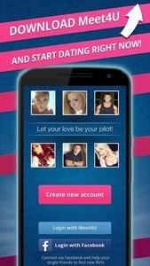 Meet4U - Chat, Love, Flirt!