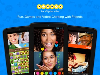 Rounds Video Chat, Call & Text