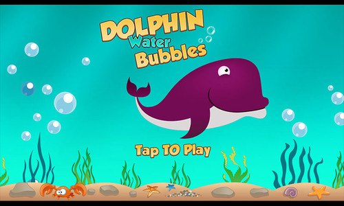 Dolphin Water Bubbles