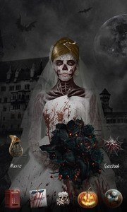 Ghost Bride GO Launcher Theme
