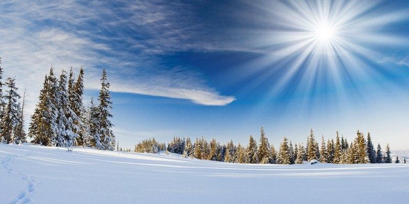 Clear Winter Sun