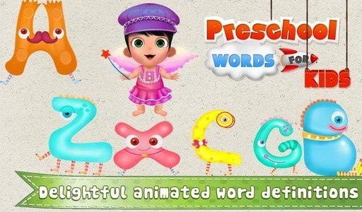 PreSchool Words For Kids