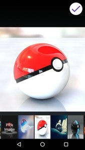 Lock screen for Pokeball