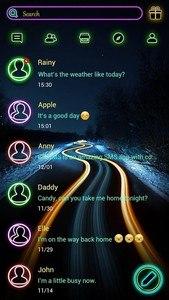 (FREE) GO SMS LIGHT THEME