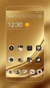 Gold Silk for Samsung Huawei