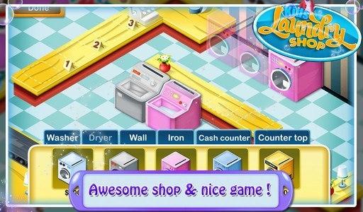 Kids Laundry Shop