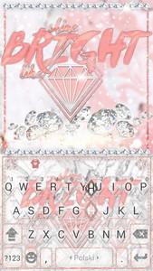 White Diamonds Kika Keyboard