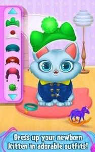 My Newborn Kitty - Fluffy Care