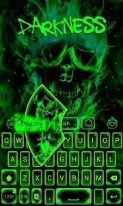 Darkness GO Keyboard theme