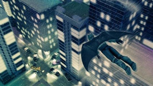 Bat Superhero Fly Simulator