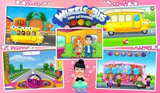 Wheels On Bus Kids Activities
