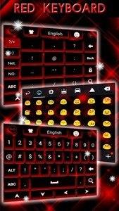 Red Keyboard