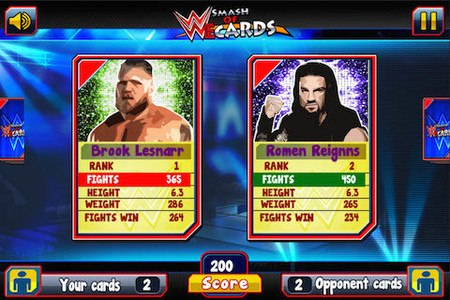 Smash of WWEE cards