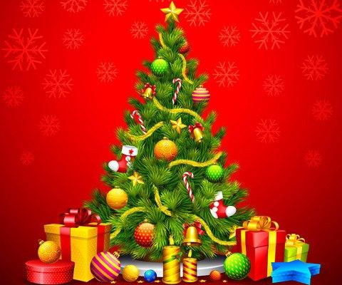 Christmas Tree Vector
