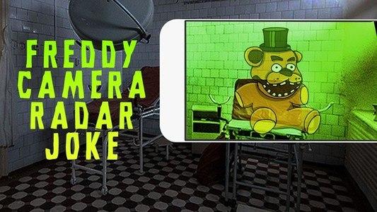 Freddy Camera Radar Joke