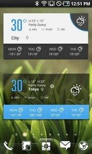 Weather Widget - EZ Weather HD