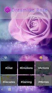 Dreamlike Rose Keyboard Theme