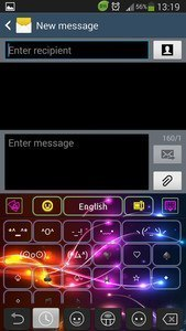 Electric Color Keyboard