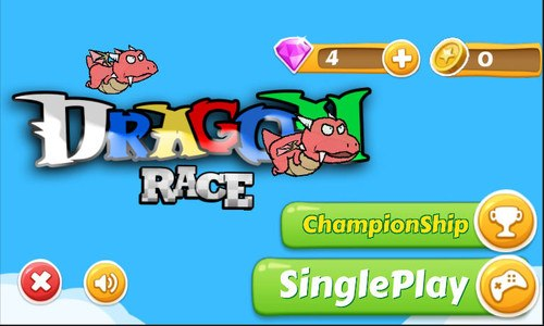 Dragon race : 2D Flight Racing