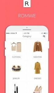 Romwe shopping-women fashion