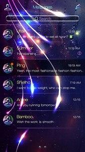 GO SMS PRO DREAM GLASS THEME