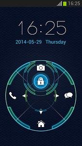 Tech Lock Screen