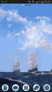 GO Launcher EX Theme Sea Ship