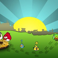 Angry Birds Background