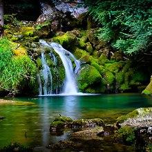 Vercors Waterfall