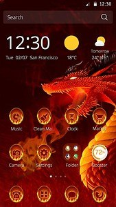 dragon theme