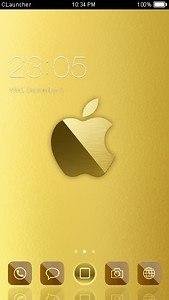 Golden Apple Theme