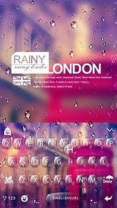 Rainy London Kika Keyboard