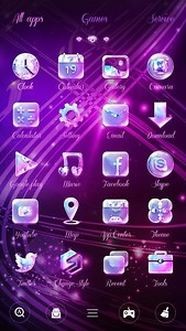 Best free android themes download themes for android on appraw twinkle go launcher theme voltagebd Choice Image