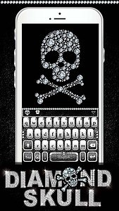 Diamond Skull Kika Keyboard